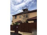 Massive 7.2 metre Youngman alloy tower