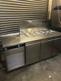 Foster commercial pizza topping fridge, eco pro G2 model 2016