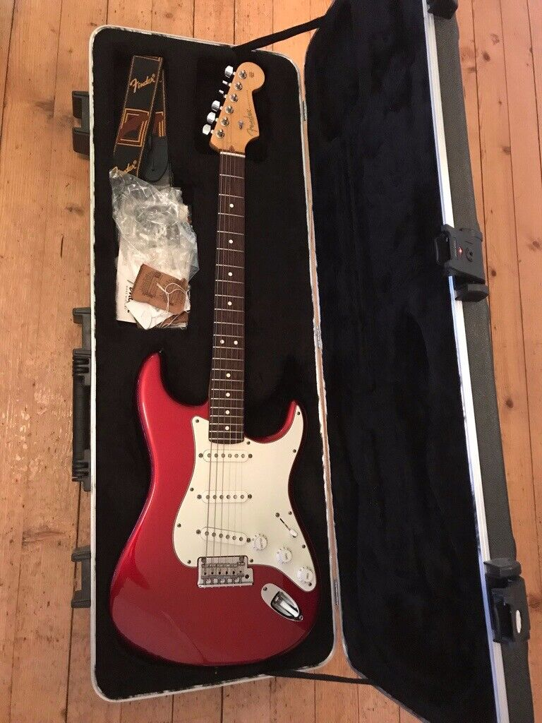 Fender USA American Standard Stratocaster Strat Red with Seymour Duncan  California 50s Pickups | in Ellon, Aberdeenshire | Gumtree