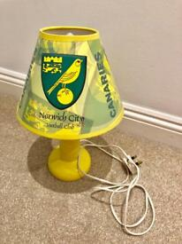 NCFC Norwich City football lamp