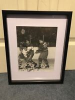 Montreal Canadiens dollard st. Laurent Signed and framed photo