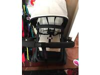 Swap bugaboo chameleon limited edition white and black for bugaboo bee /Icandy peach/stokke