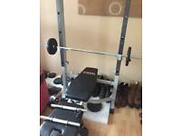 York Multi use home gym- Excellent condition