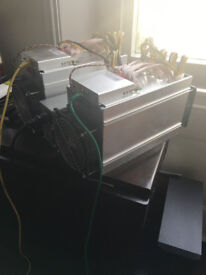 Bitmain Antminer L3+ (2 units) 504 MH/s LiteCoin Miner with PSU