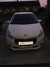 Peugeot 208 Active 2013 (63) 3 door, Bluetooth, 31000 miles and £20 tax