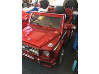 Mercedes Benz g65 ride on car £199