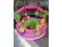 Baby`s carousel which can also be a feeding chair