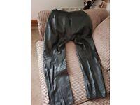 Ladies Richa motorbike leathers