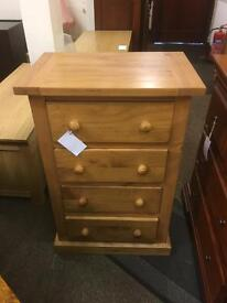 4 drawer chest of drawers * free furniture delivery*