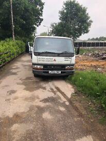 Mistubishi canter 2003 53 reg drives well 11 months mot tips fine with no problems ideal work truck