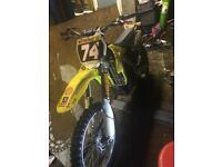 Suzuki rmz 250 motocross bike (mx bike, RMZ)
