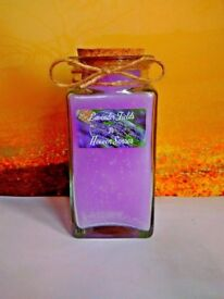 Lavender Fields scented candle by Heaven Senses 10 oz