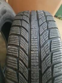 215/55r16 Gt winter tyres like new
