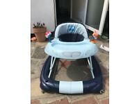 Car themed baby walker