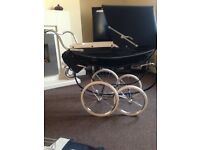 Silver cross dolls pram excellent condition