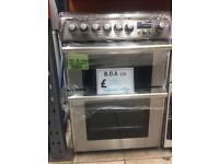 Hotpoint CH60DPXFS DUAL FUEL COOKER BRAND NEW with warranty
