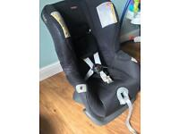 Britax front and rear facing stage one car seat immaculate
