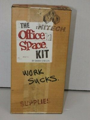The Office Space Kit Complete In Box Mike Judge TPS Stapler Mug Mat Poster Stick Office Space Kit