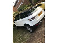 Range Rover Evoque SD4 Prestige Lux Pack 2 owners, tan leather interiors, fully loaded