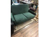 *Brand New* Luxury Green Velour Sofa from Homesense