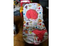 Mamas and papas vibrating bouncy seat