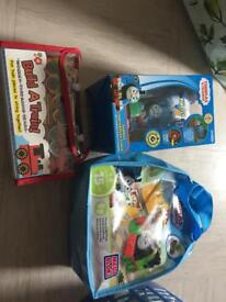 3 x train/ Thomas the tank toys