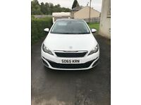 Peugeot 308 .65 plate desil 1.6free tax and under warranty selling due to new car