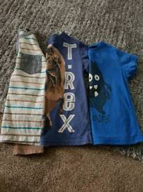 Boys bundle ranges from 3-4-5 years