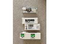 ILFORD HP5 Plus 400 Black & White Film, 120mm (Expired 2015) x 3