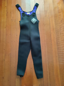 Wet suits - Two Childrens 2 piece & one adult 2 piece.