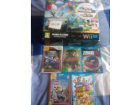 Nintendo Wii U Premium 32GB with 5 games