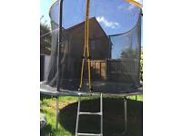 10ft power sport Trampoline + accessory pack