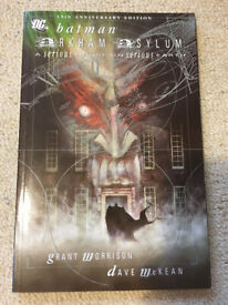 Batman: Arkham Asylum Anniversary Edition Paperback – 2005