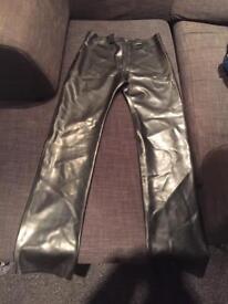Men's PVC jeans