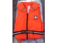 Life jacket sea float crew saver medium