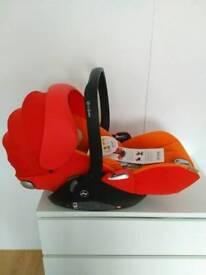 NEW Cybex Cloud Q lie flat Baby Car Seat RRP £240
