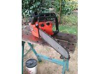 "oleo-mac 244f chainsaw 15"" cut"