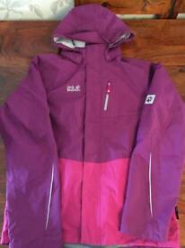 Girls Jack wolfskin 2 in 1 winter coat