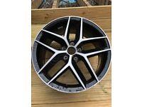 18 inch diamond cut 5 stud alloy wheel, Seat/VW/Audi/SKoda