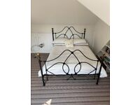 Beautiful wrought iron double bed