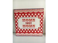 Home sweet home canvas