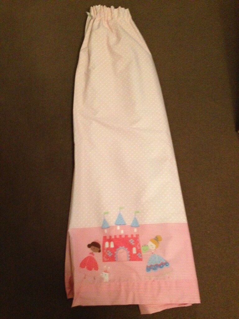 Princess castle curtains from Next, fully lined