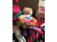 Build a bear and dolls/toys bundle