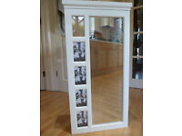 Wall mounted mirror/photo frame Jewellery cabinet