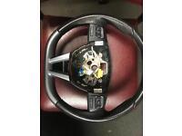 Seat Leon CUPRA K1 steering wheel