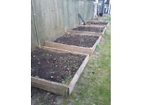 Free use of raised beds