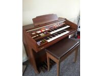 LARGE ORGAN AND STOOL AS NEW CAN DELIVER FREE