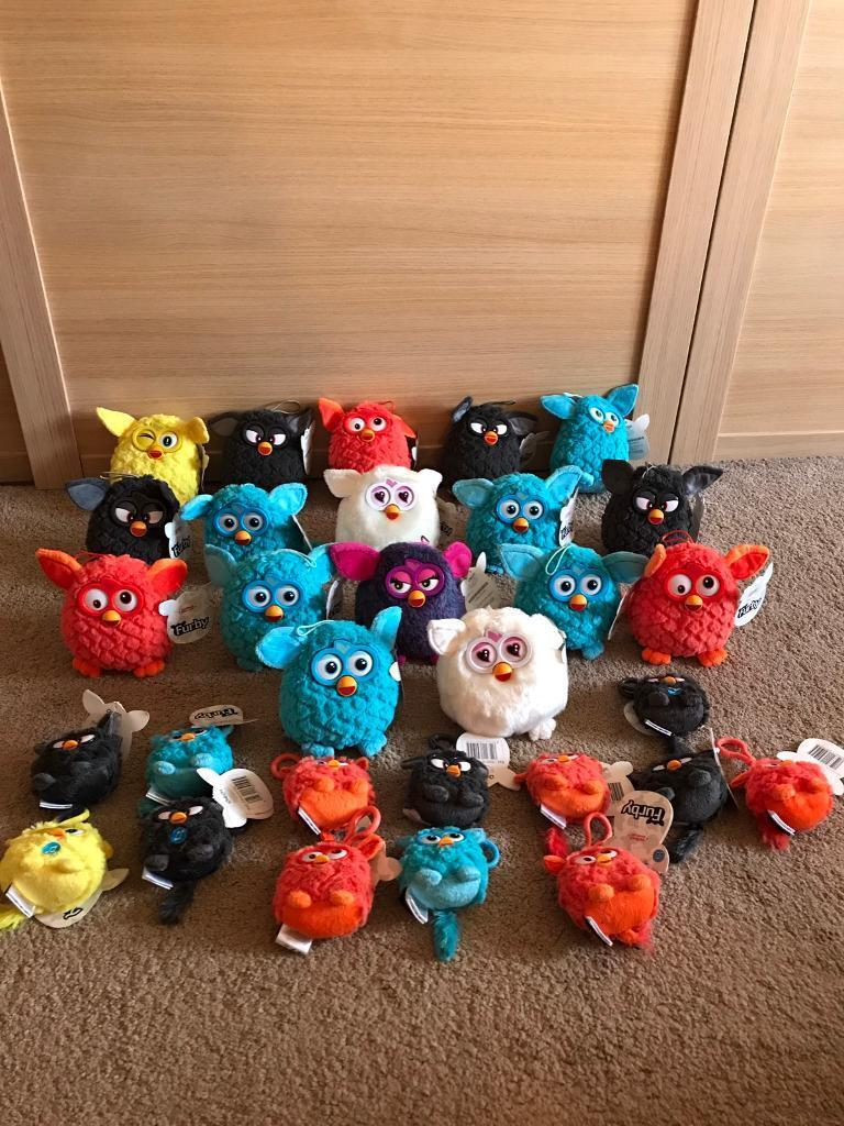 Job lot of Furby soft toys - all Brand New With Tags