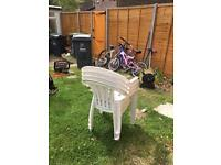 Good quality garden 4 chairs