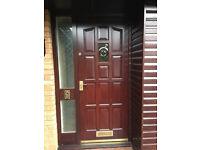Front Door with side panel